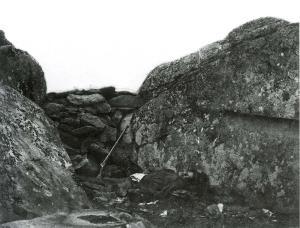 El catau d'un franctirador rebel, Gettysburg, de Gardner