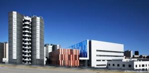 La nova seu de Biocat està a la planta baixa de la Torre I (a l'esquerra de la imatge).