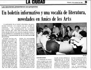Roda de premsa Amics de les Arts_1981